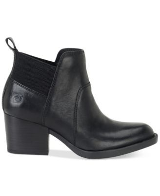 Born Garcia Ankle Booties $135.00 Weekday to weekend, Born's Garcia ankle booties will be a favorite with a variety of looks in a sleek silhouette and reliable block heel design.