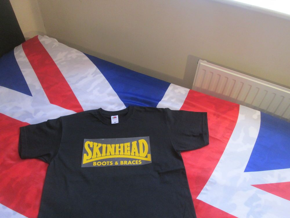 Ska Skinhead T shirt Mod Scooter