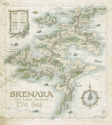 Skenara Land Beyond The Sea By Sirinkman Area Of Map Provinces