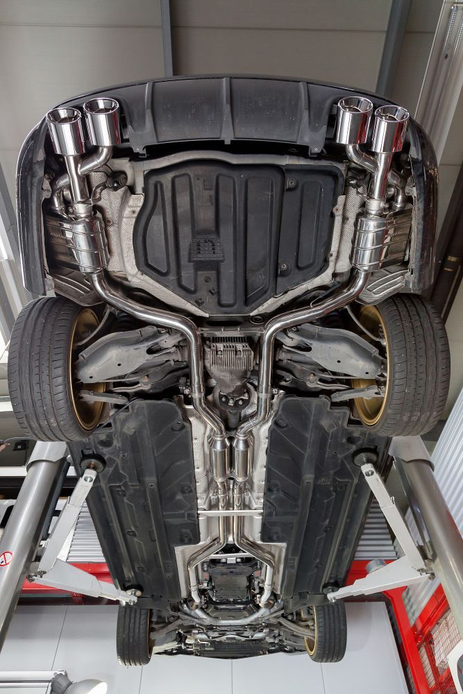 Capristo Sports Exhaust   Mercedes Benz C63 (W204) | Scuderia Car Parts