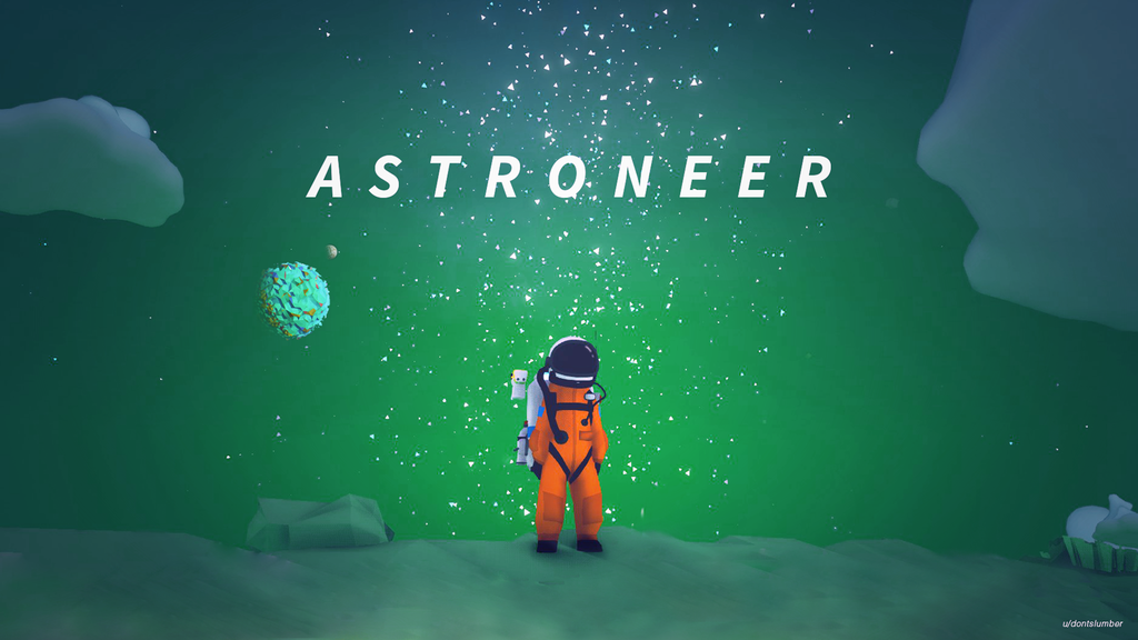 I Made An Official Wallpaper For Astroneer Astroneer Wallpaper No Man S Sky Game Design