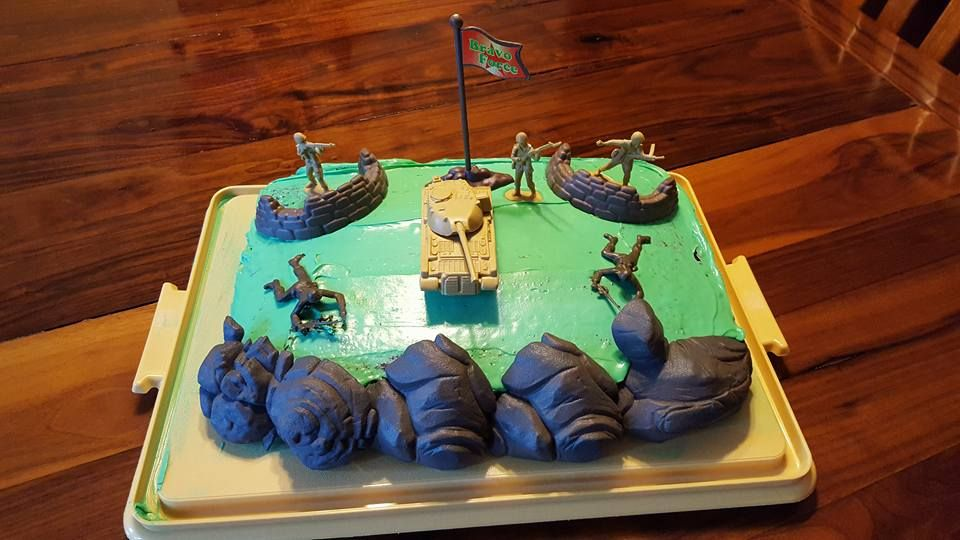 Birthday Cake Army Theme My Stuff Pinterest Birthday cakes