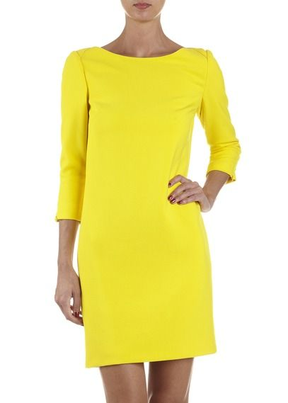 2014 By Robe Droite Nice Dresses Jaune Fashion List CarollWish m6IYbfvy7g
