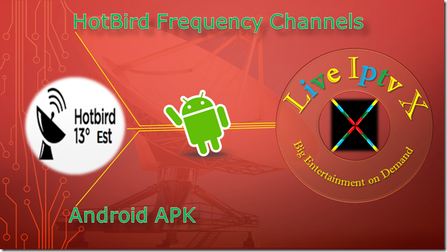 HotBird Frequency Channels | Streaming tv | Android video