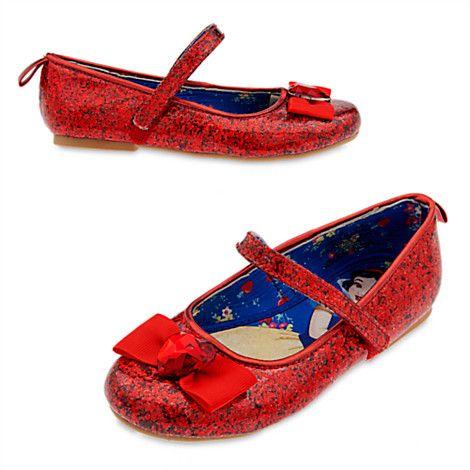 a347bdfa0a444 Snow White Shoes for Kids | BEAUTY // FASHION | Dress up shoes, Snow ...
