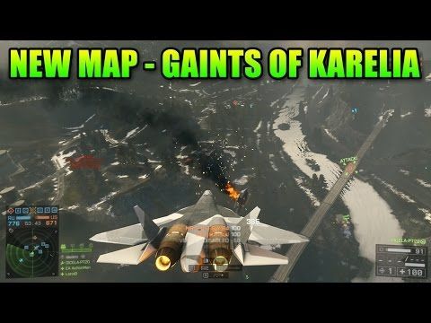 Giants Of Karelia Map - BF4 Mech Factory! | GamerVision