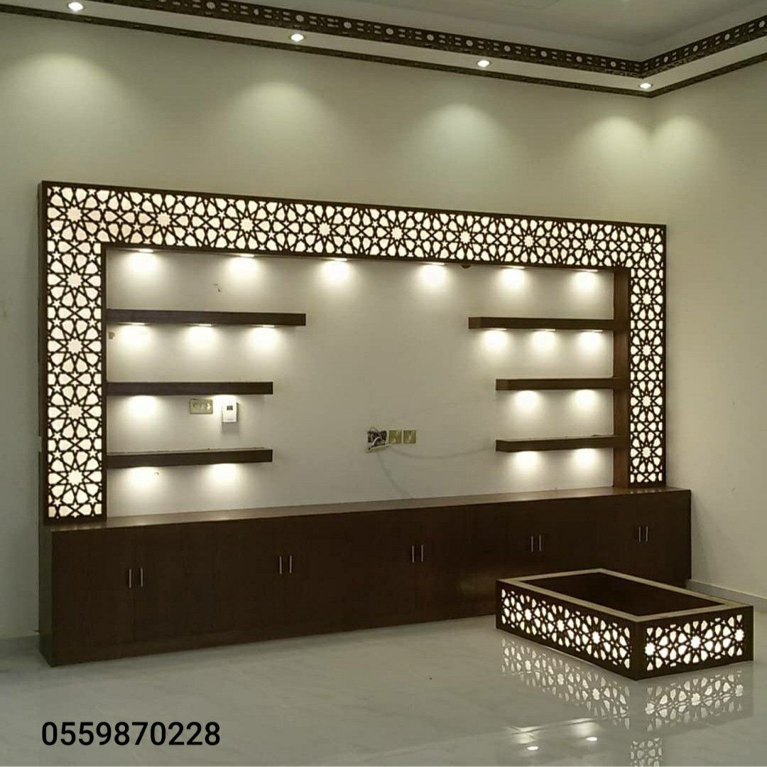 ديكورات خشبية Tv Wall Decor Home Room Design Room Design