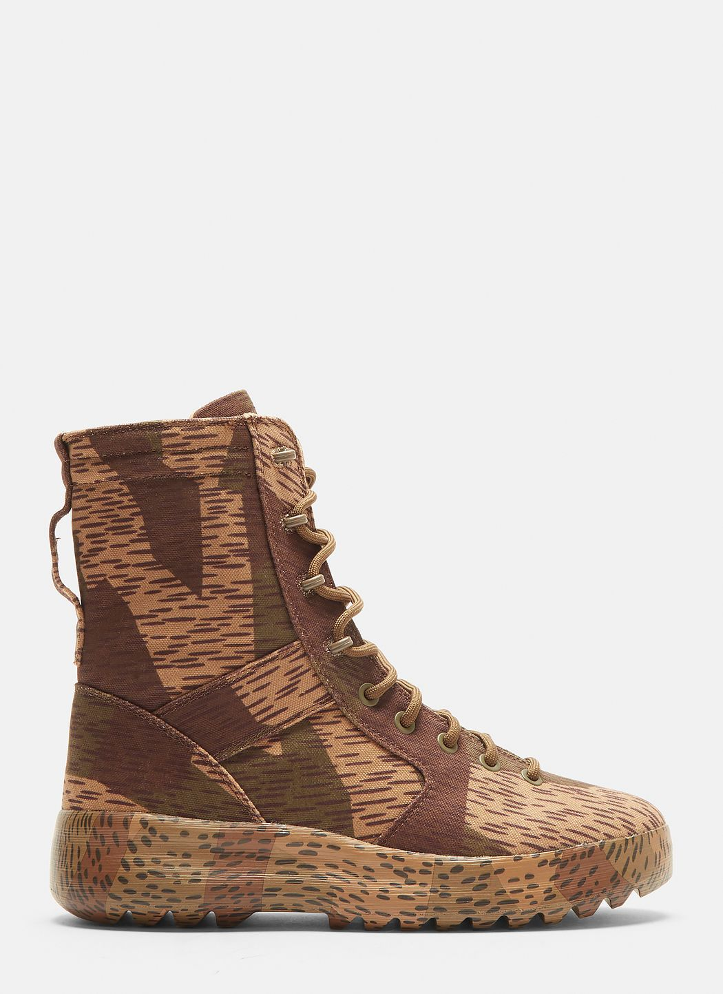 7a07741ef4181 YEEZY Splinter Camo Washed Canvas Military Boots in Camo.  yeezy  shoes