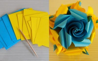 Clara's Paper Garden: Rose Twirl Tutorial
