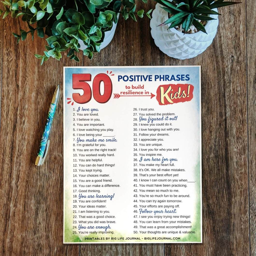 Growth Mindset Printables Kit Ages 5 11 With Images