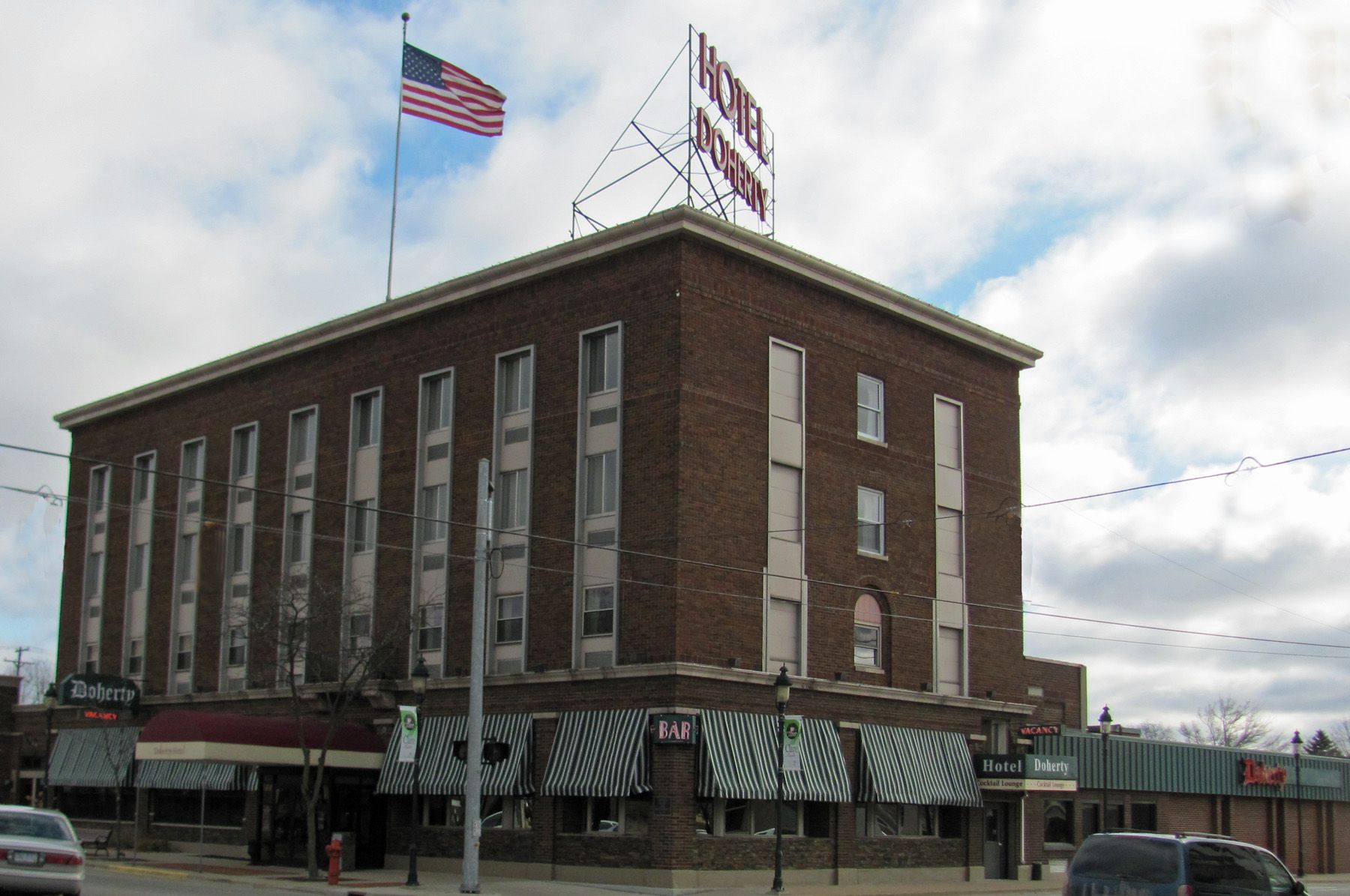 Doherty Hotel Clare Michigan The Was A Notorious Hangout For Gangsters In