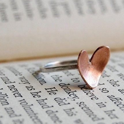 Heart ring. :)