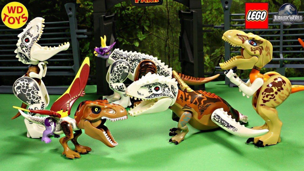 New Lego Jurassic World Hybrid Dinosaur Mutant Toys Tyrannosaurus Rex I Jurassic World Hybrid Lego Jurassic World Dinosaur