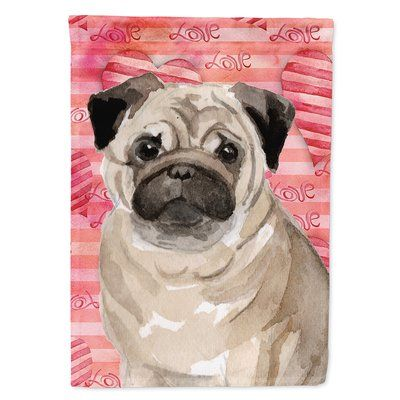 Pug Loves You Ii Photographic Art Print On Canvas East Urban Home