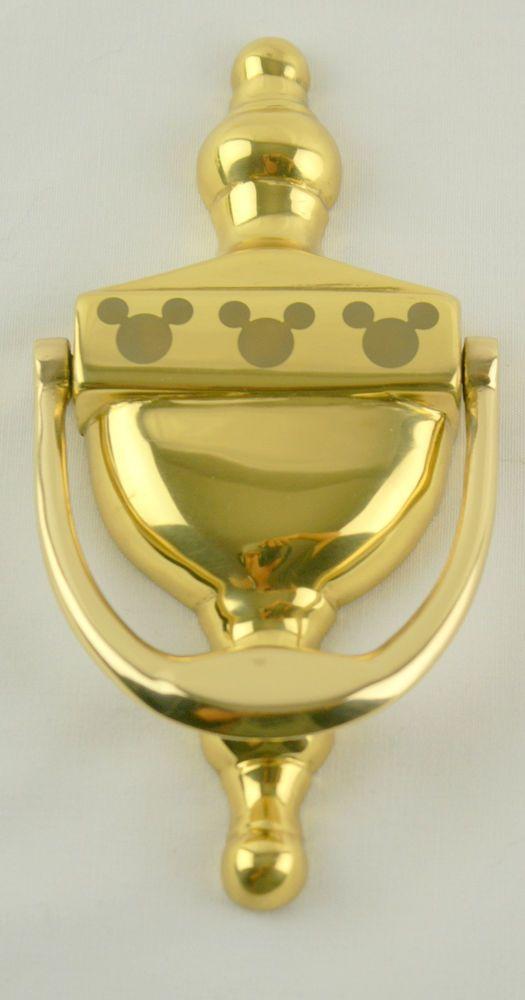 Disney Mickey Mouse Brass Door Knocker