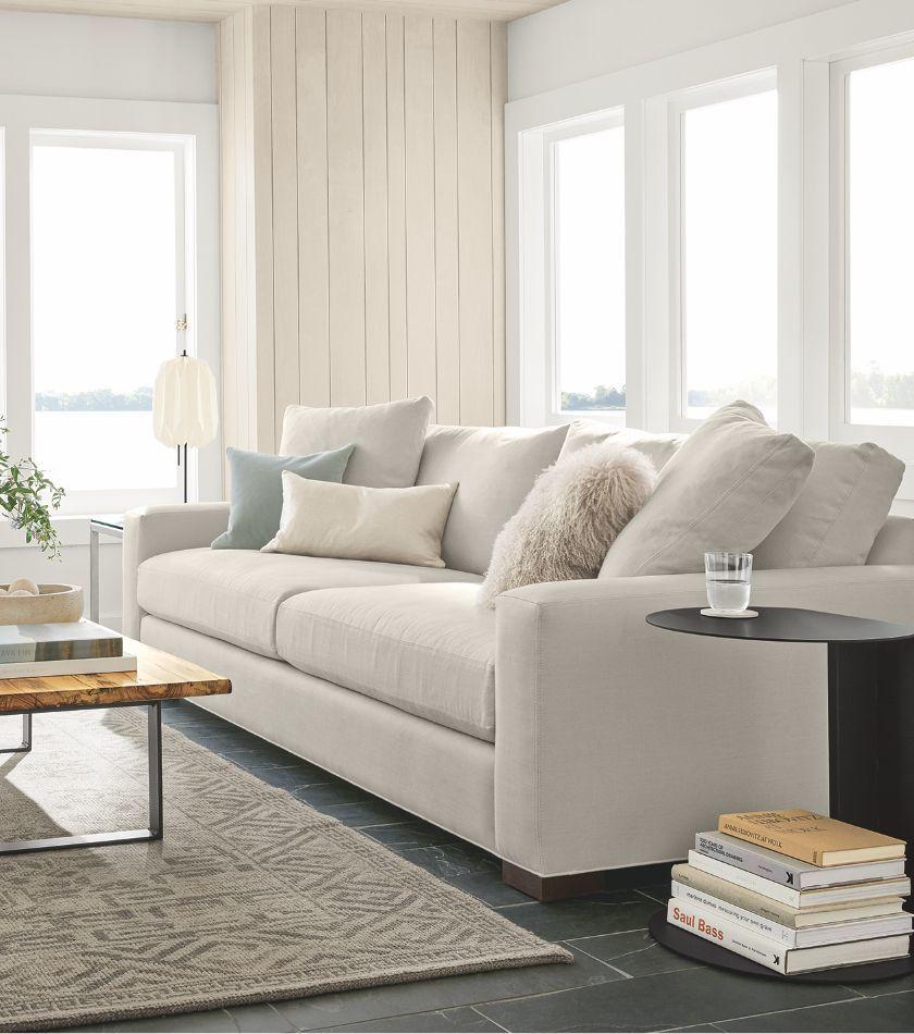 Affirm Monthly Financing Room Board Modern Sofa Living Room