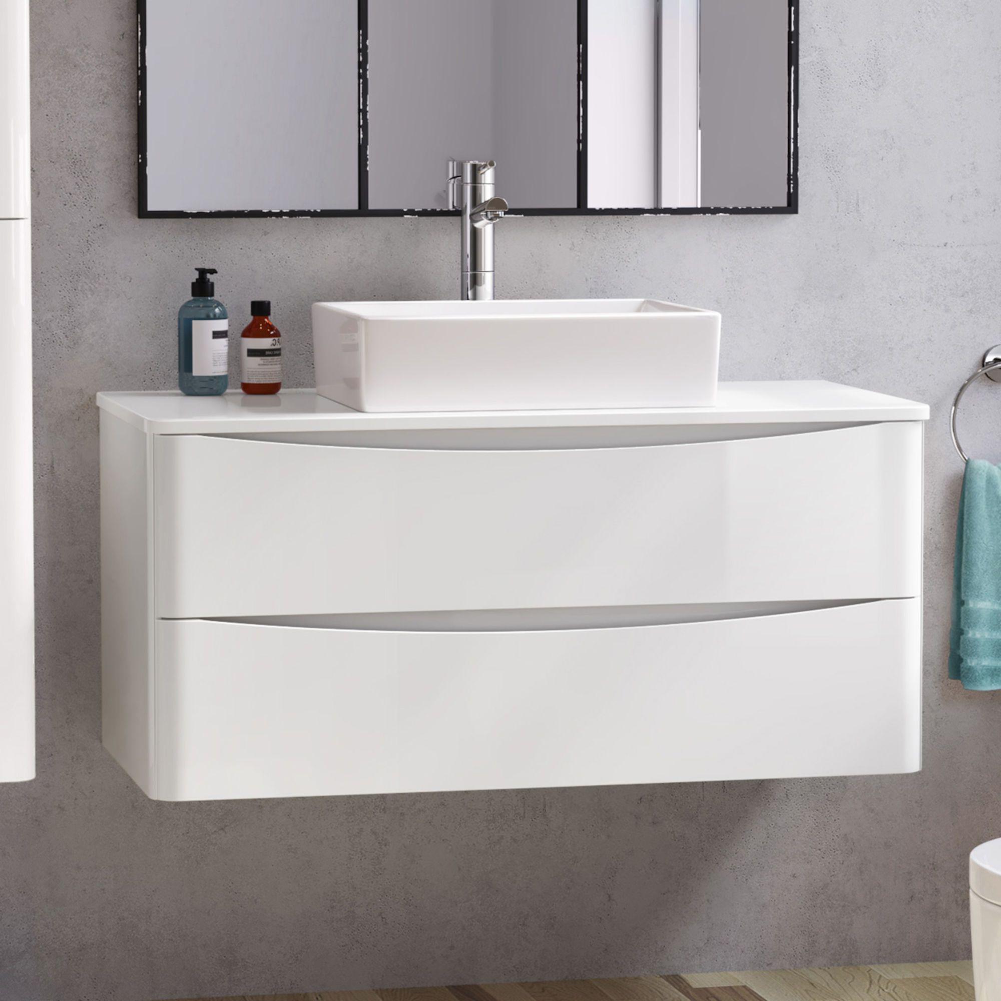 Austin Vanity Unit Alicia Basin 1000mm With Images Bathroom Vanity Units Sink Vanity Unit Wall Hung Vanity