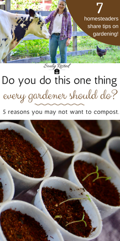One thing every gardener should do, for growing the best vegetables possible, is compost. This post gives you 5 reasons many DON'T compost and why they're wrong as well as great quotes about composting throughout history.