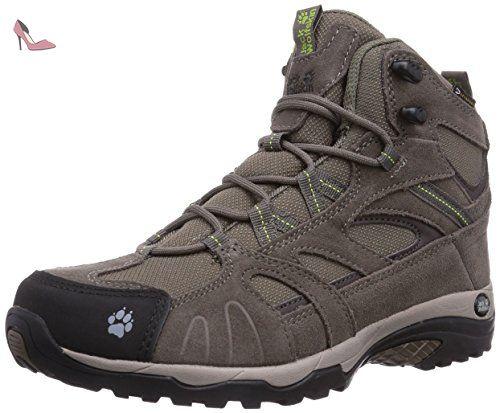 Jack Wolfskin Vojo Hiking Texapore W Chaussures de randonnée gris 35,5 EU