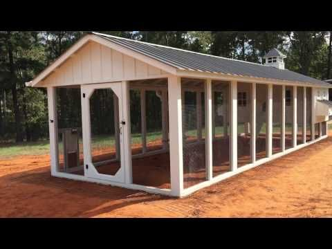 custom chicken coopcarolina coops - youtube | poultry keeping