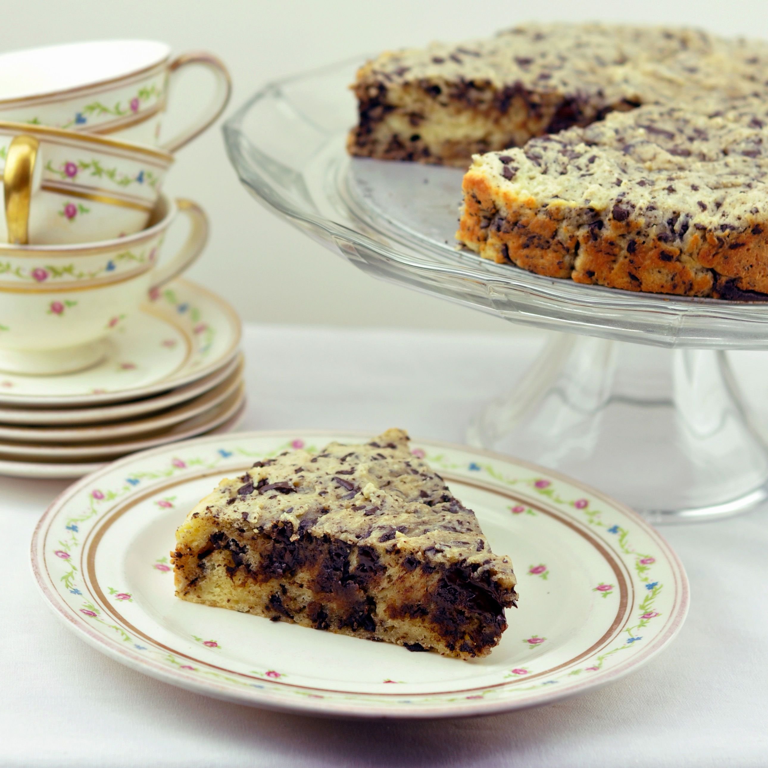 Rezeptbild Italienischer Ricottakuchen Mit Schokolade Torta Di