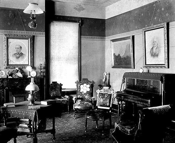 Living Room Or Music Room 1890 Victorian Interiors