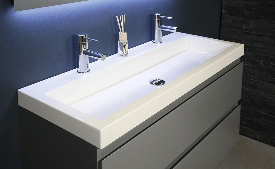Ondiepe Wastafel Meubels : Ink 40 dock wastafel badkamer meubelen badkamermeubel