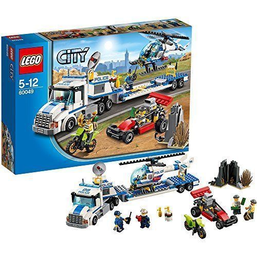 Lego City Helicopter Transporter 60049 382 Pcs Brand New Lego City