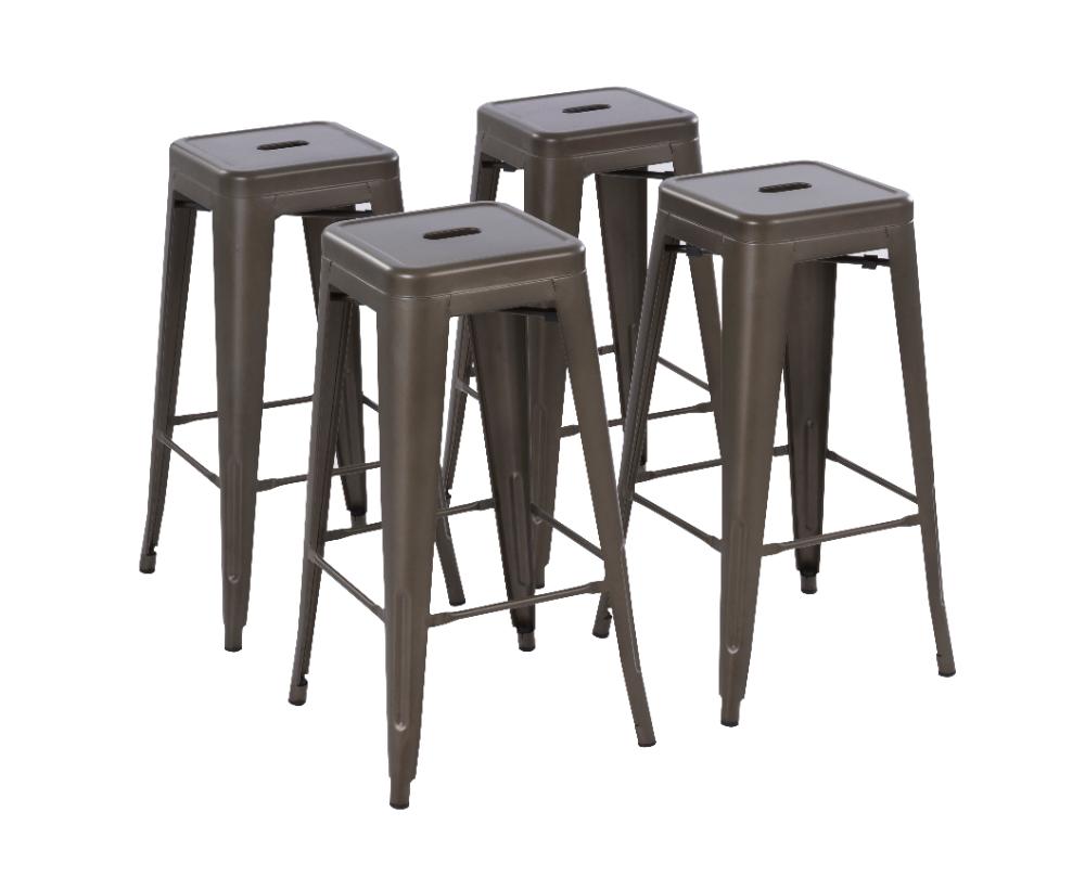 Howard 30 Inch Metal Bar Stool Set Of 4 Gunmetal Walmart Com Metal Bar Stools Metal Counter Stools Bar Stools Bar stool sets of 4