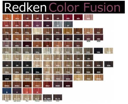 Redken hair color chart | Redkeb | Pinterest | Redken hair color ...