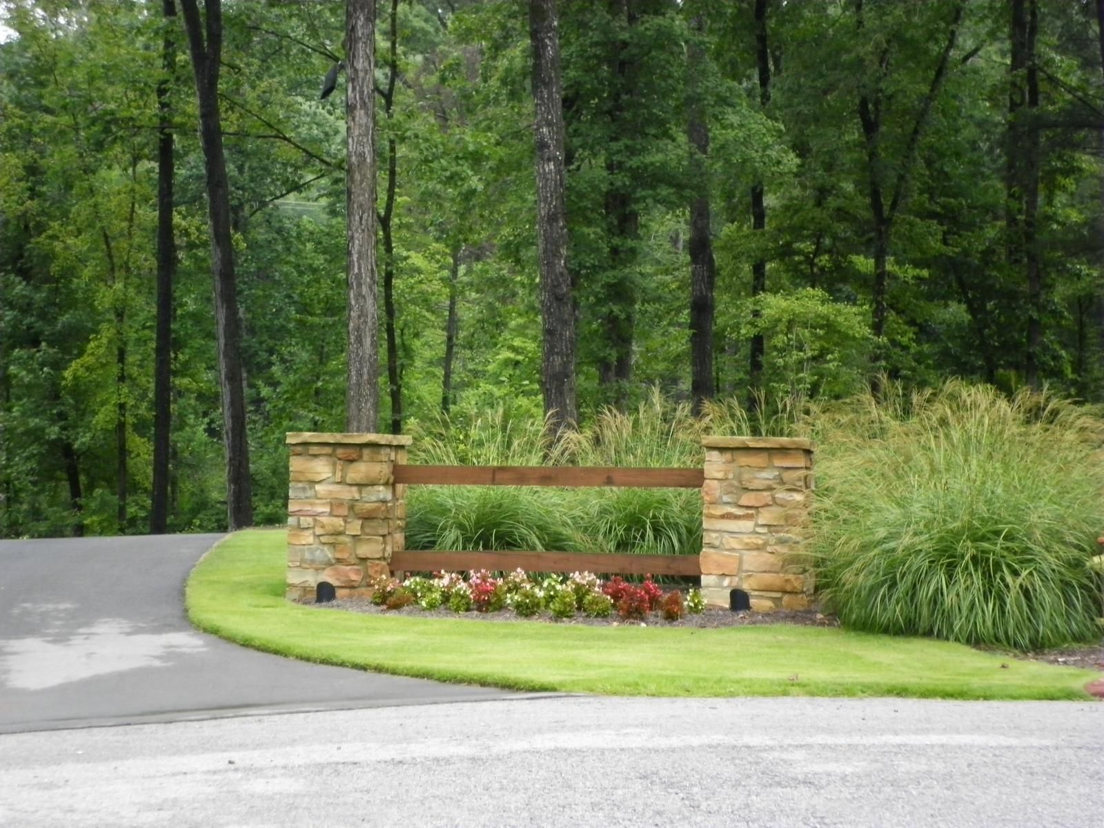driveway landscaping ideas
