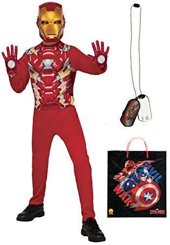 Rubies Costume Captain America Civil War Iron Man Costume Accessories Bundle Multicolor Large -- Read  sc 1 st  Pinterest & Rubies Costume Captain America Civil War Iron Man Costume ...