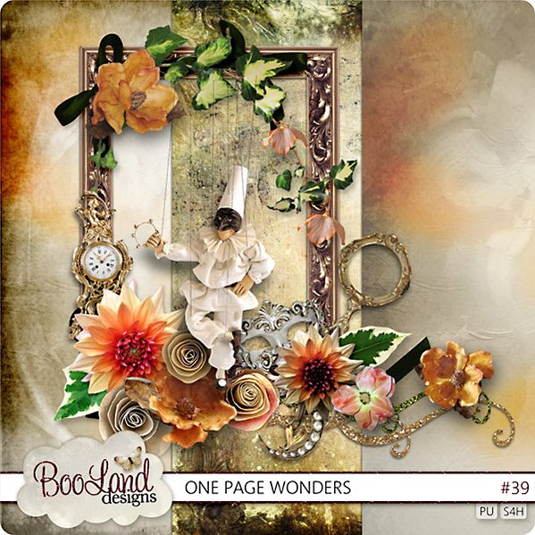 #One Page Wonders N°39 by #BooLand Design $1.97