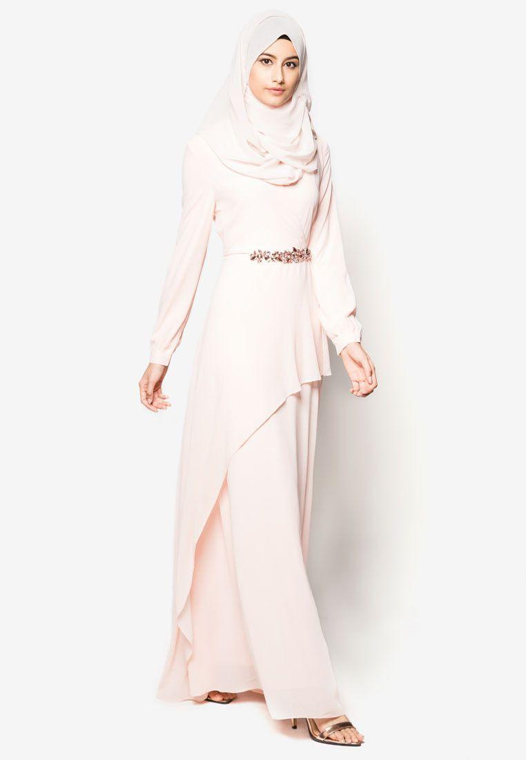0014d642905 Zalia Embellished Chiffon Dress I Beli di ZALORA Indonesia ®