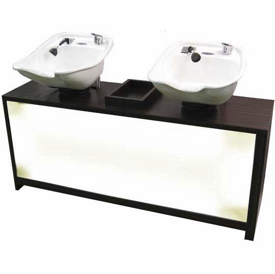 Pedestal Washbasin For Hairdressers Belvedere Custom Q00843
