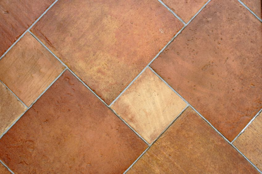 With a large selection of tiles made from terracotta