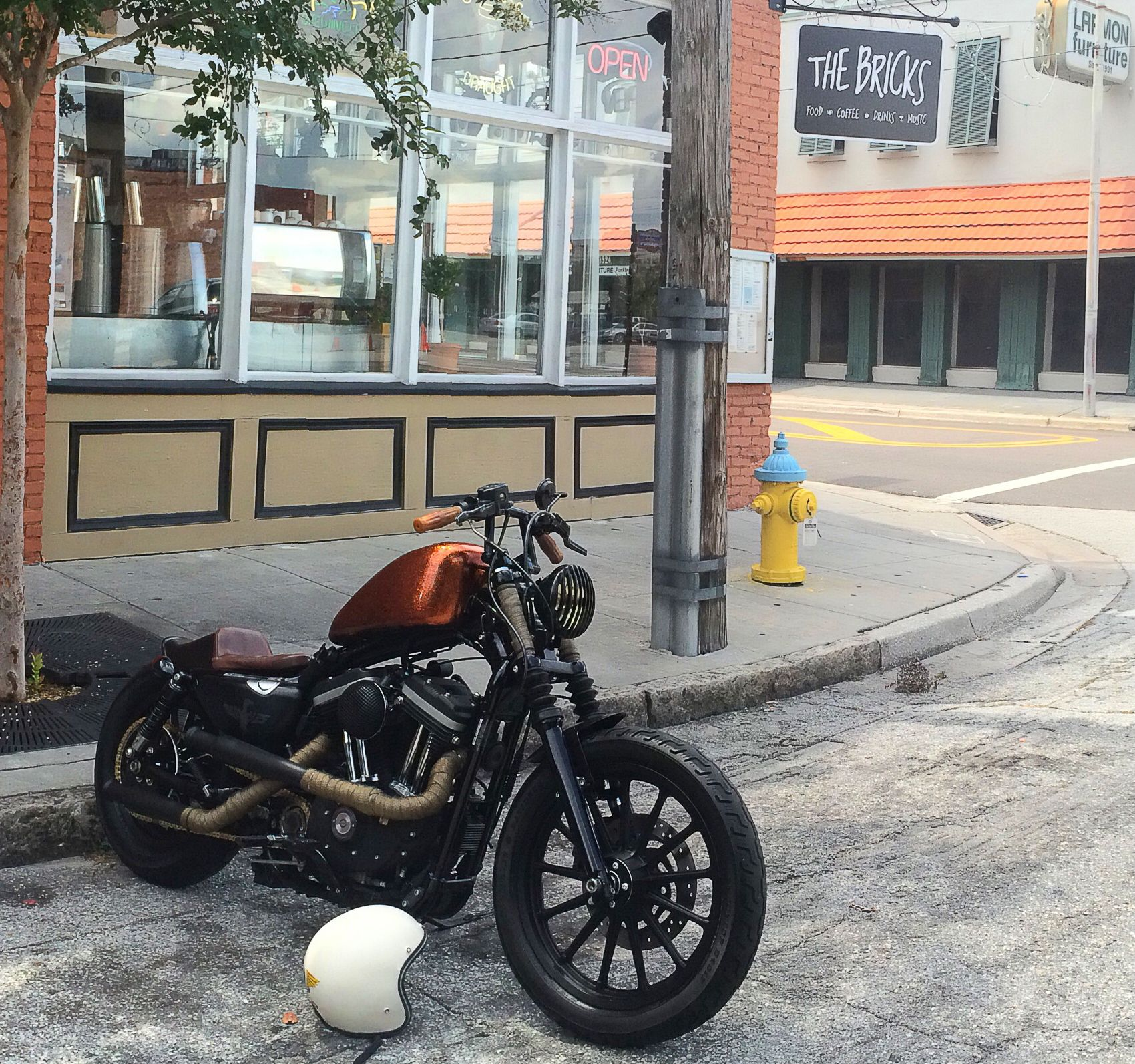 My Harley Davidson Sportster Bratstyle