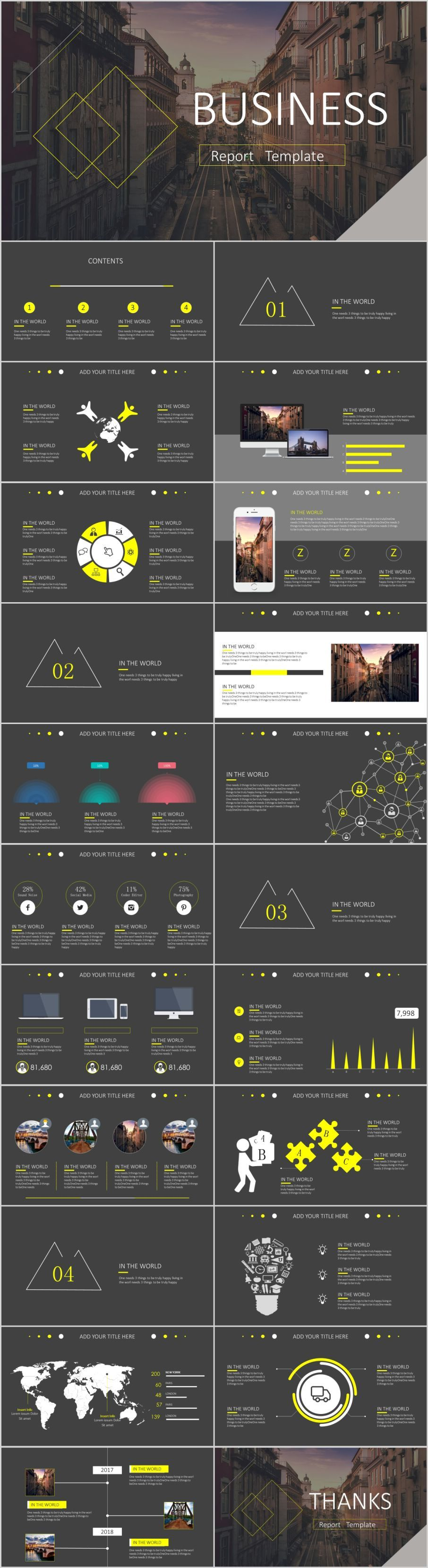 23 gray business chart design PowerPoint templatesThe highest quality PowerPoint Templates and Keynote Templates download