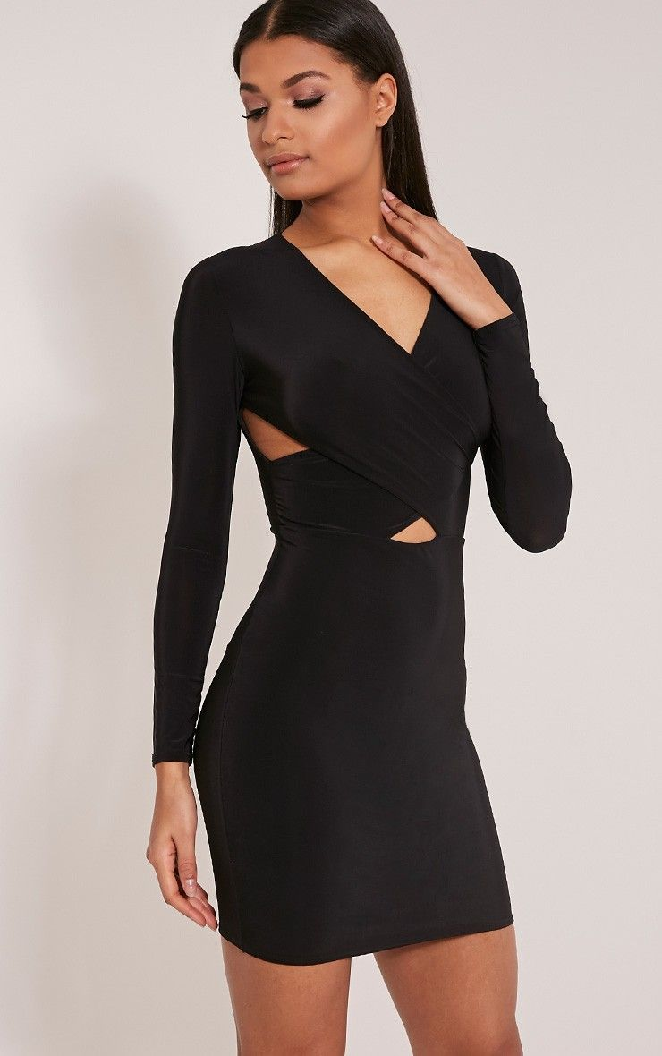 Long black cheap dresses
