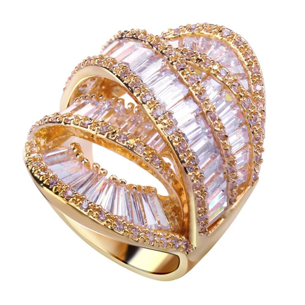 Wedding Rings Cubic Zircon Stone Lover Ring New Style