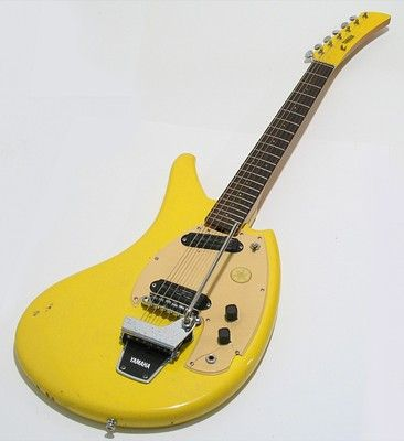 vintage 1960 39 s yamaha sg 2c flying banana electric guitar w ohsc sg2c 2 c sweet gear. Black Bedroom Furniture Sets. Home Design Ideas
