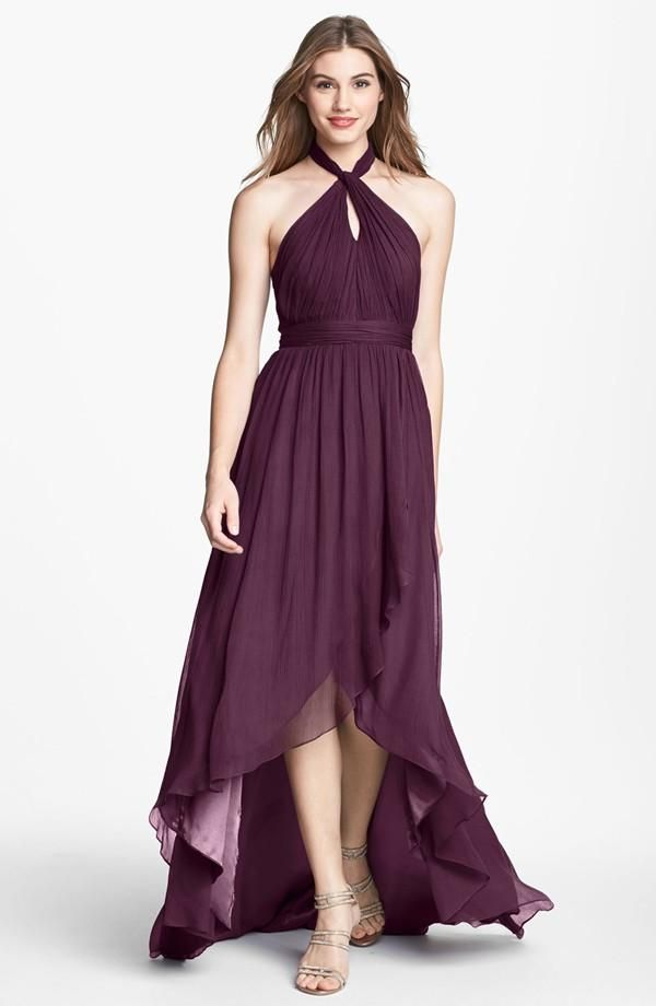 Jenny Yoo \'Olivia\' dress in Eggplant, a pretty variation of dark red ...