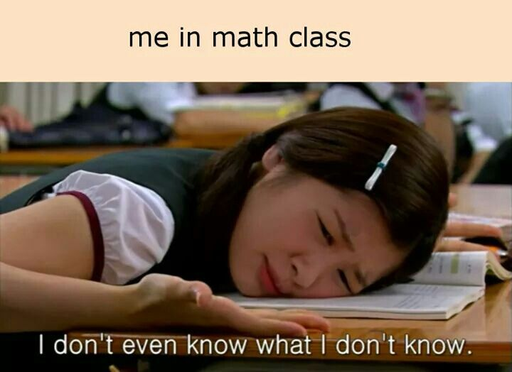 Everybody hates math, there is no denying it