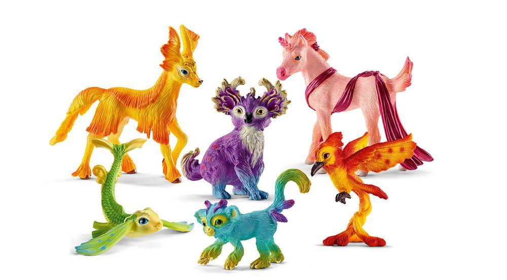 SCHLEICH Bayala Toy Fantasy Figurines Mythical Animal Set/6
