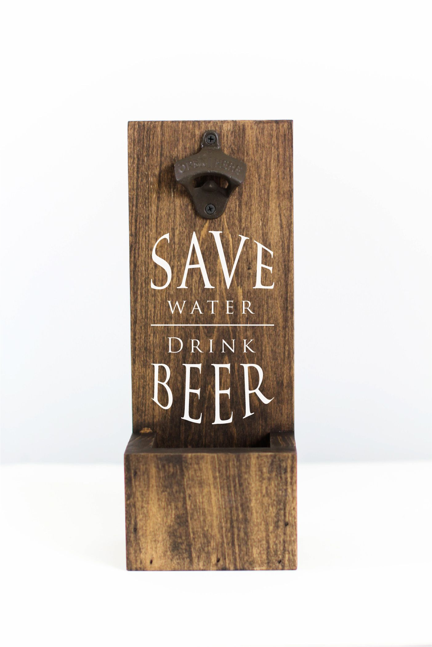 Save Water Drink Beer Bottle Opener | Gifts for Him | Man Cave Decor | SS-65 #palettendeko
