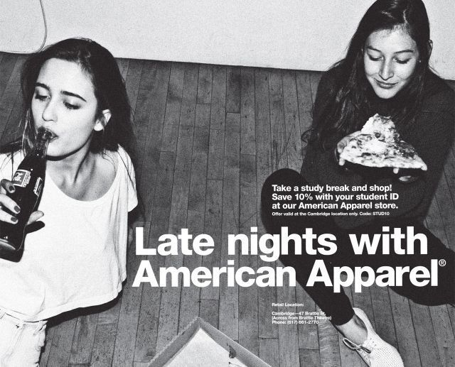Late nights with American Apparel