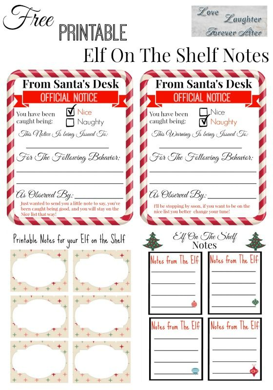 photo relating to Elf on the Shelf Printable Notes called Free of charge Printable Elf upon the Shelf Notes Accurate Information Gal