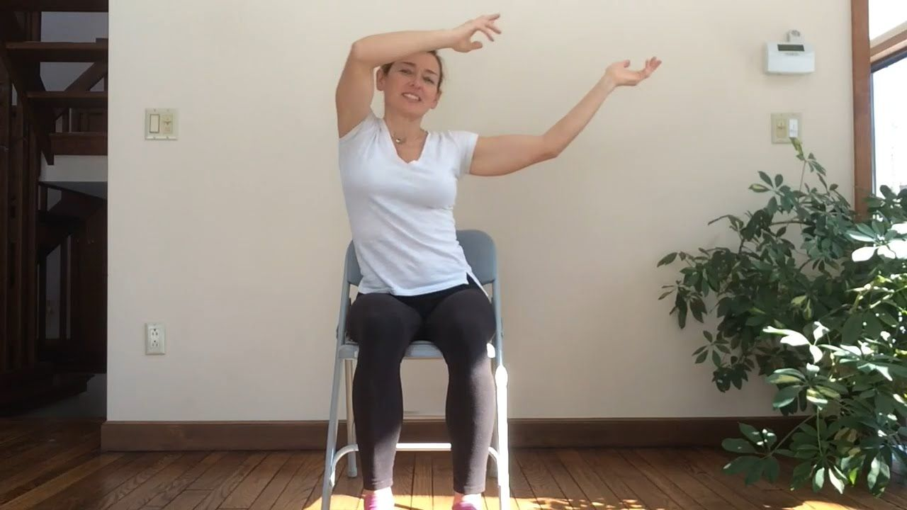 30 minutes in chair exercises for seniors chairs home fun and playful viki leads this min yoga seated class