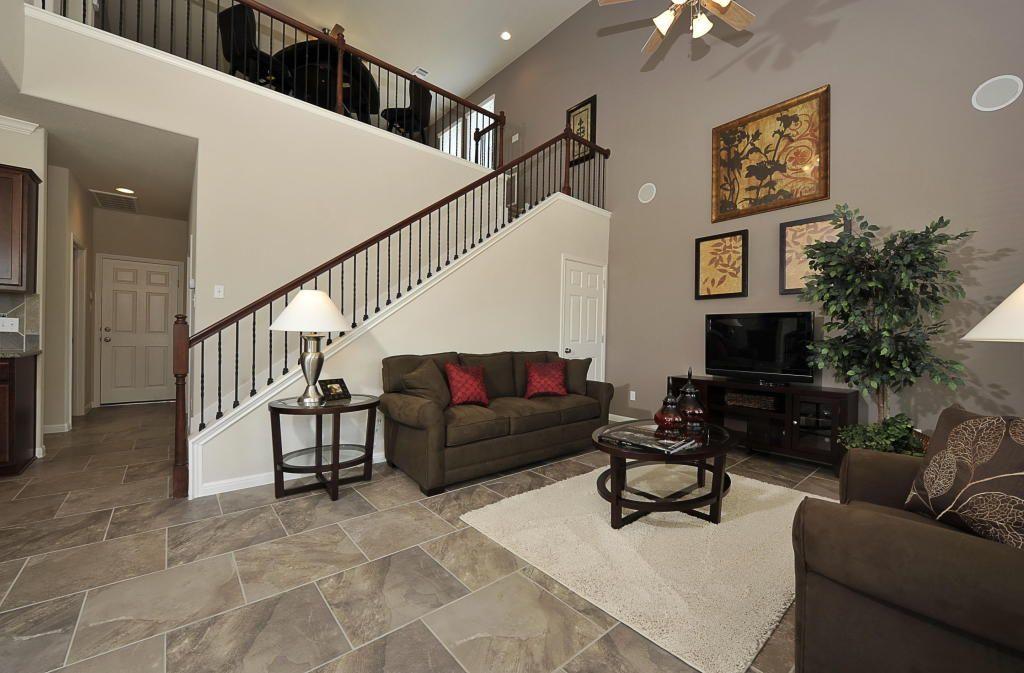 two story paradiso villas home living room cedar park tx austin