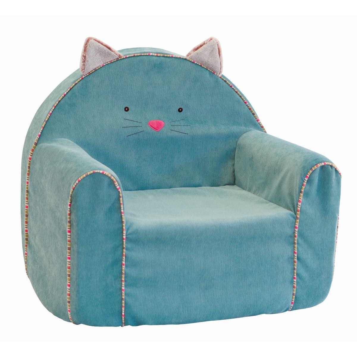 Kindersessel design  Kindersessel Katze in türkis aus der Kollektion Les Pachats im ...